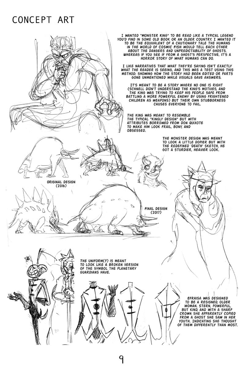 Monster King (Concept Art)
